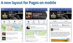 Facebook: New Mobile Look.  Understand which images are seen by your customers, and how to improve them!  Social media for mobile #mobile Facebook #mobile phone