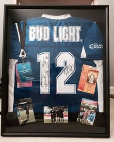 adf3102b8 DIY frame your sports jersey   event ticket for less than a frame shop!  Frame