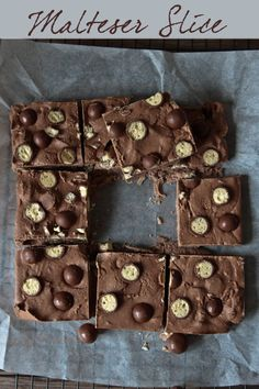 malteser slice - horlicks, chocolate, milk powder..that's it!