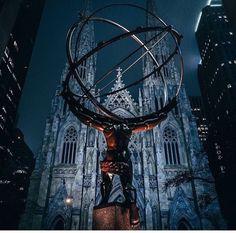 Saint Patricks Cathedral by @mindz.eye NYC