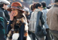 GQ - Wandering Eye: Milan- Liam Goslett captures the most stunning and stylish women at Milan Fashion Week