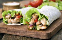 Confira receitas de wrap com recheios de carne, embutidos, peixes, frutos do mar e vegetarianos para saborear em suas refeições.