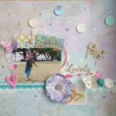 by あやっぺ Casket, Blog Entry, Scrapbook Pages, Challenge, Sparkle, Layout, Frame, Ideas, Home Decor
