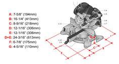 Kapex 120 measure from base to cutting platform