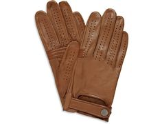 Alfred Dunhill Perforated Leather Driving Gloves