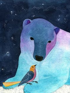 Friends by Geninne on Flickr (via Geninne Zlatkis | Illustration And Graphics)