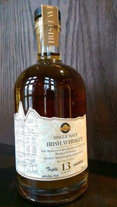 Single Malt Irish Whiskey 13 year old