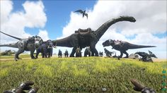 Be ready to step into the world filled with dinosaurs! That world is called ARK Survival Evolved with a bunch of Dino Dossiers! We are so pleased to make a collection of Dinosaurs displaying various discrepant creatures that you might slay or tame the local wildlife in ARK world. You can tame every creature!