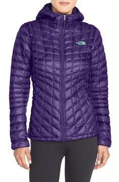 The North Face 'ThermoBall™' PrimaLoft® Front Zip Hooded Jacket available at #Nordstrom