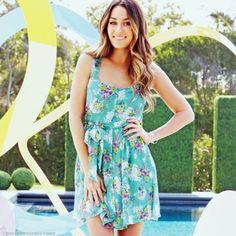 Cute turquoise floral summer dress | #dress #fashion #apparel