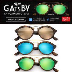 Ray-Ban New Gatsby o Óculos Mais Desejado do Mundo em 2016!