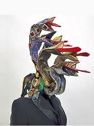 Guerra de la Paz's textile sculptures
