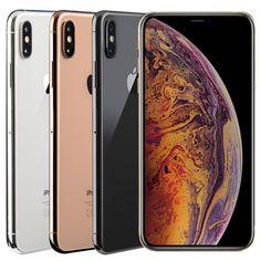 Apple iPhone XS Max - - Gold ( Factory Unlocked) C stock Cell Phones & Smartphones Iphone 7 Plus, Buy Iphone, Free Iphone, Iphone 5s, Apple Iphone, Wifi, Gold Factory, Unlocked Phones, Smartphone