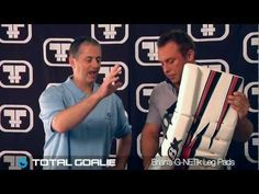 Mike Bruins, Goalie Specialist at Total Goalie, and Chris Joswiak of Brian's Custom Sports take an in-depth look at the G-NETik Leg Pads.    Check out the Brian's G-NETik goalie line here http://goalie.totalhockey.com/searchresults.aspx?redir=1=gnetik    Shop for Brian's goalie equipment at http://www.totalgoalie.com