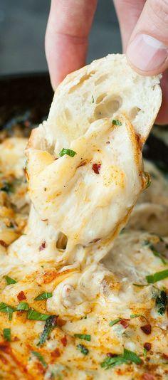Hot Crab Dip #crab #dip #appetizer