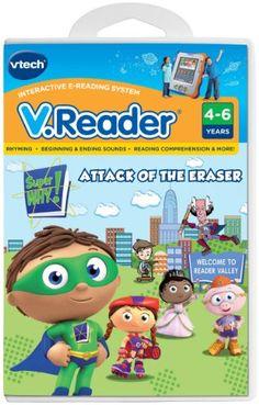 VTech - V.Reader Software - Super Why $12.74 #topseller
