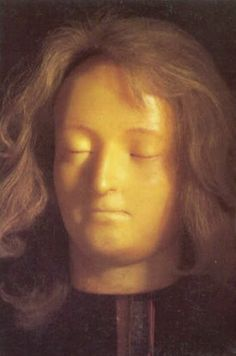 Death mask of Marie-Antoinette by Marie Tussaud.