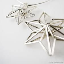 himmeli - Google Search Easy Christmas Decorations, Star Decorations, Diy Christmas Tree, Simple Christmas, Handmade Christmas, Yule Crafts, Diy And Crafts, Card Weaving, Turbulence Deco