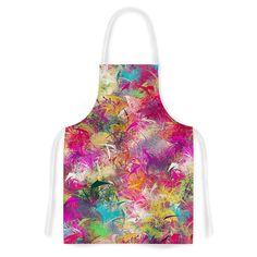 Splash by Danny Ivan Rainbow Abstract Artistic Apron