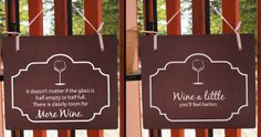 Wine humor Sayings Double Sided Hanging Wood by Frameyourstory, 29.00