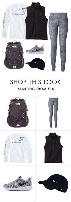 """Creek101"" by heaven-brandon on Polyvore featuring The North Face, lululemon, Vineyard Vines, Patagonia and NIKE"