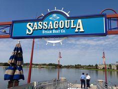 Meanwhile, back on the Sassagoula ...
