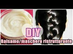 Il mio BALSAMO/MASCHERA FATTO IN CASA ristrutturante e rigenerante per capelli sfibrati!! :) - YouTube
