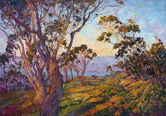La Jolla Eucalyptus (2015) by Erin Hansen
