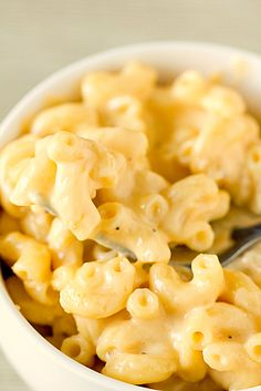 A simple recipe for making a deliciously cheesy Macaroni and Cheese right on your stovetop.