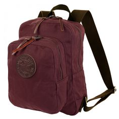 T H I S. Burgundy or olive! Small Standard Daypack - School Backpacks - Backpacks | Made in USA | Guaranteed For Life | Duluth Pack