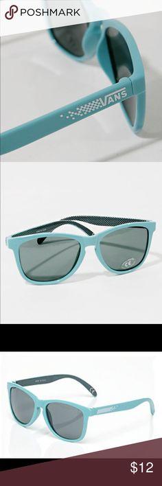 Vans sunglasses Awua blue Vans sunglasses- only worn a couple times. great condition! Vans Accessories Sunglasses