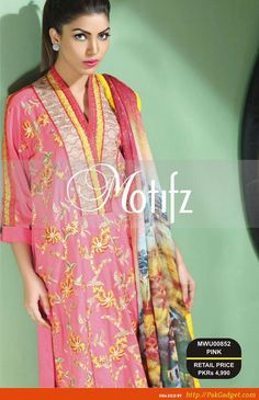 Motifz Embroidered Wear 2015 2016