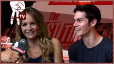 dylan o'brien (teen wolf) and britt robertson talk first times. GUYS GO TO 1:49 I LOVE HIM SO MUCH. THAT WAS BRILLIANT. <3