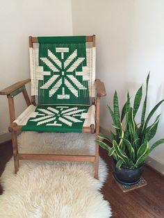Hardwood Macrame Chair                                                                                                                                                                                 More