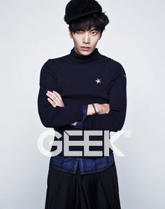 Lee Min Ki - Geek Magazine November Issue '12