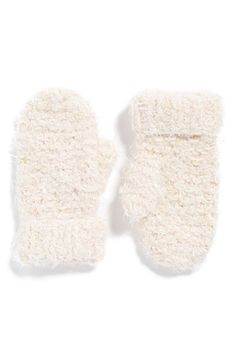 LEMON Popcorn Knit Mittens available at #Nordstrom