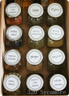spice organization I need this for all my spices