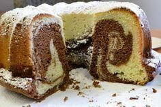 Cake marbré chocolat vanille ultra moelleux – Gâteaux & Délices