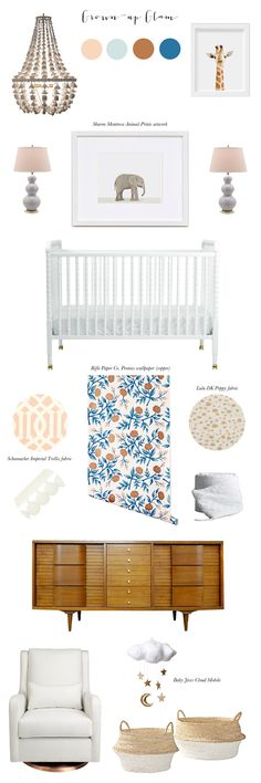 Comfy Cozy Couture: Grown Up Glam Nursery Inspiration   Sweet Little Peanut