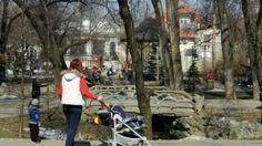 Parcul Ioanid, actualul Ion Voicu, din centrul Bucurestiului