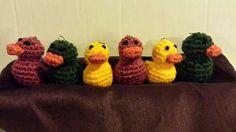 Yarnie Duckie keychain www.facebook.com/MotherlyLoveBrand  www.motherly-love.com