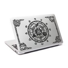 Amazon.com: Legend Of Zelda Decal Gate Of Time Decal Majora Macbook decal Laptop sticker Window Decal: Computers & Accessories
