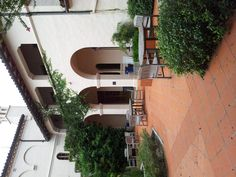 Spanish Patio at Rollins College