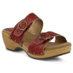 Double-Strap Sandal by Spring Step®