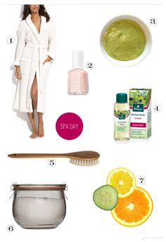 DIY {At Home} Spa Day - pamper and relax with these home-spa tips inspired by professional spas for the fraction of the cost :-)