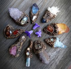 http://fairydrop-mysticcave.tumblr.com/ ***Archive*** earthy creations from FairyDrop-MysticCave gemstone jewelery