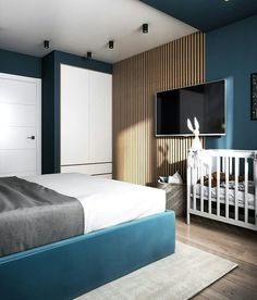 Simple Tips on Improving the Look of Your Bedroom - Interior Decor and Designing Bedroom False Ceiling Design, Luxury Bedroom Design, Room Design Bedroom, Home Room Design, Home Decor Bedroom, Modern Bedroom, Apartment Interior, Apartment Design, Interior Design Living Room