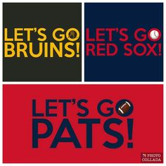 My favorite Boston sports teams in order: Bruins, Sox, and Pats.