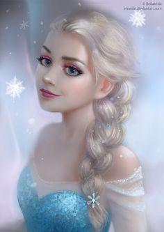 Elsa (Frozen) by Elvanlin.deviantart.com on @DeviantArt