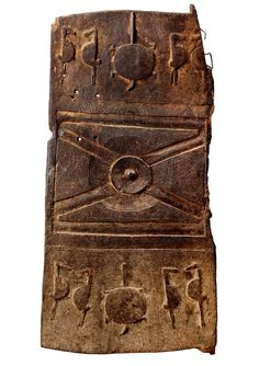 Africa | A Senufo door from the Ivory Coast. | Carved wood